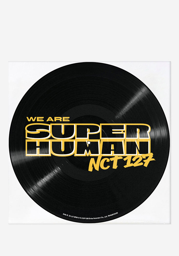 NCT 127 We Are Superhuman: The 4th Mini Album Exclusive LP