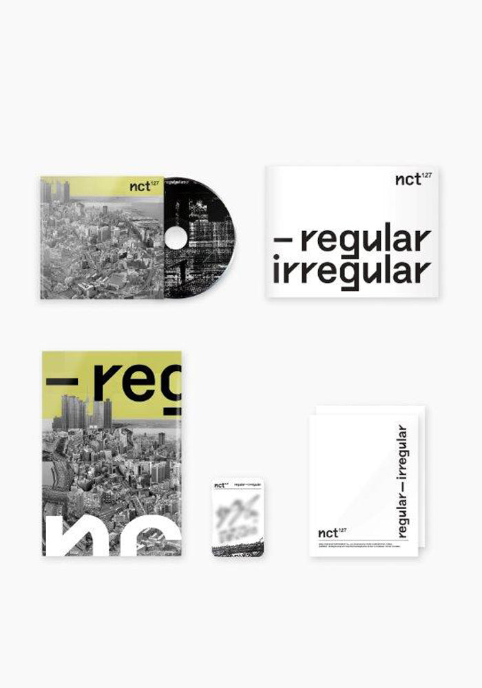 NCT 127 Regular-Irregular CD (Version A)