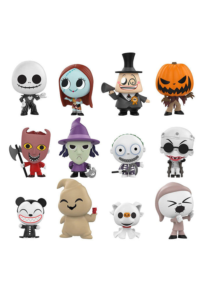 NIGHTMARE BEFORE CHRISTMAS Funko Mystery Minis: Disney Nightmare Before Christmas Blind Box (Series 2)