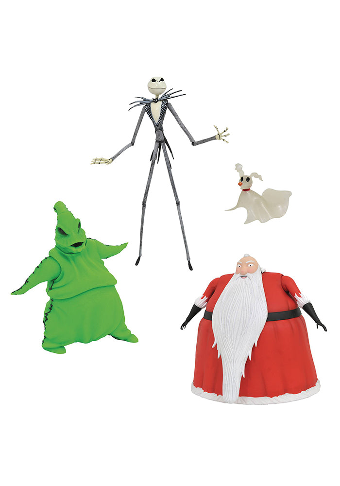 NIGHTMARE BEFORE CHRISTMAS Oogie's Lair Deluxe Lighted Action