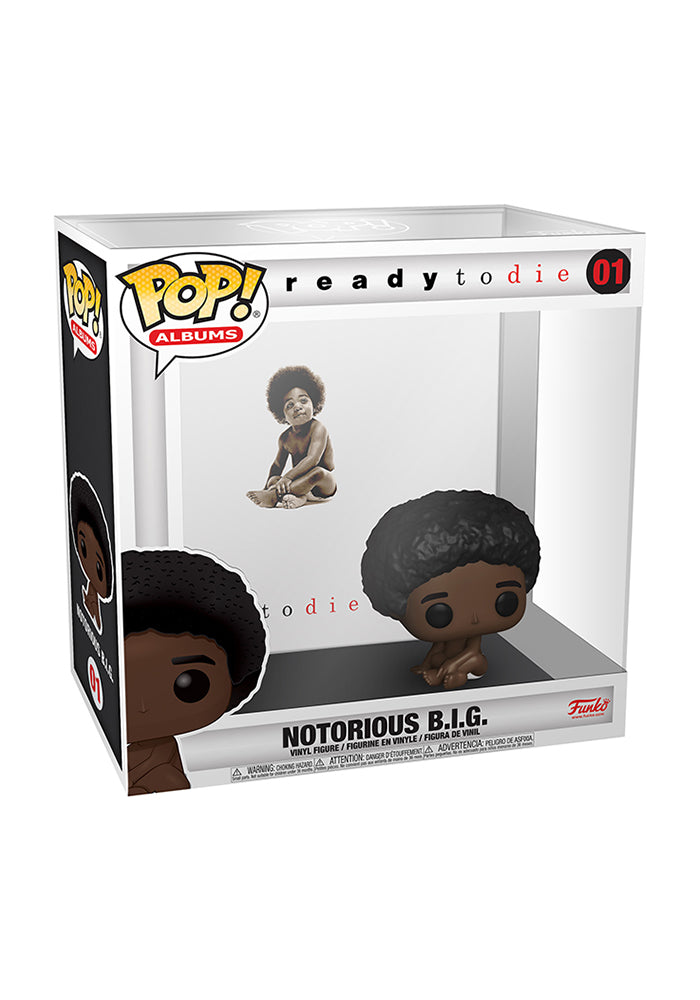 NOTORIOUS B.I.G. Funko Pop! Rocks: Notorious B.I.G. - Ready To Die Album With Case