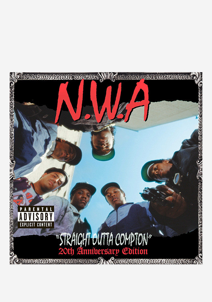 N.W.A. Straight Outta Compton - 20th Anniversary 2 LP