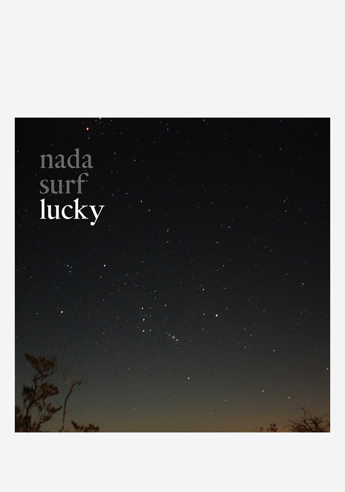 NADA SURF Lucky Autographed LP