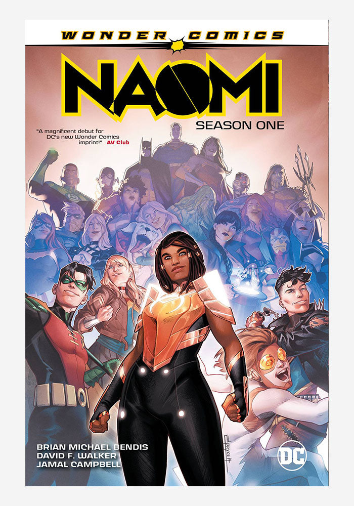 DC COMICS Naomi: Season One Graphic Novel