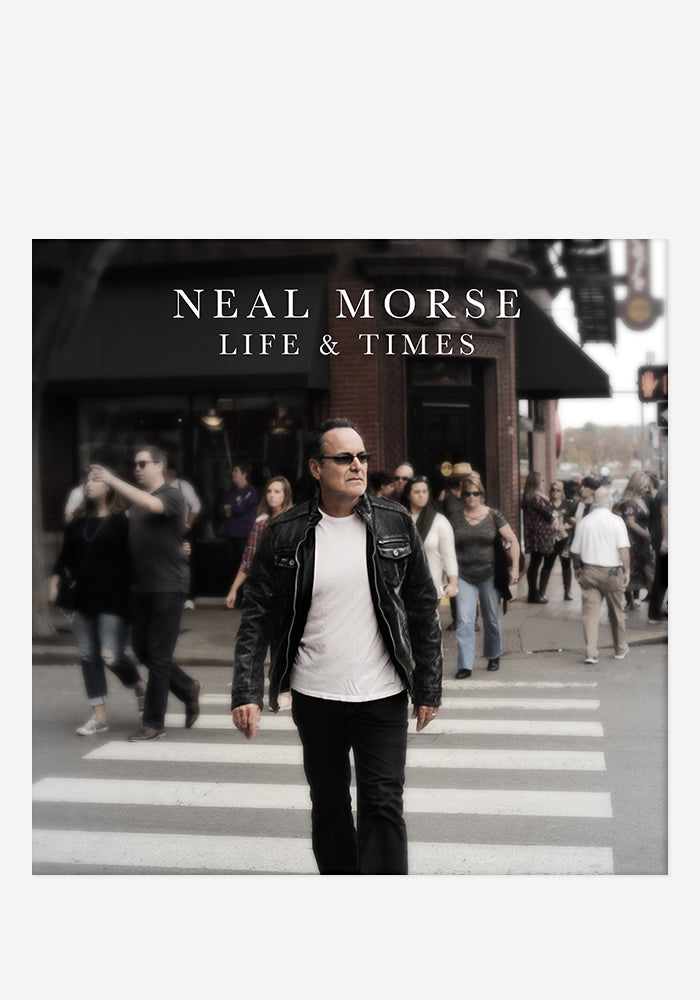 NEAL MORSE Life And Times With Autographed CD Booklet