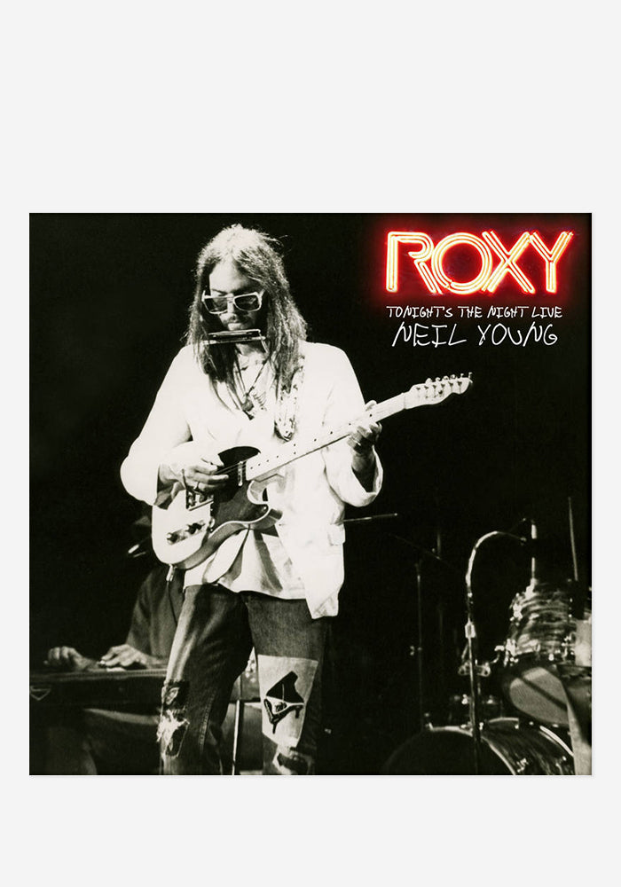 NEIL YOUNG Tonight's The Night Live At The Roxy 2 LP