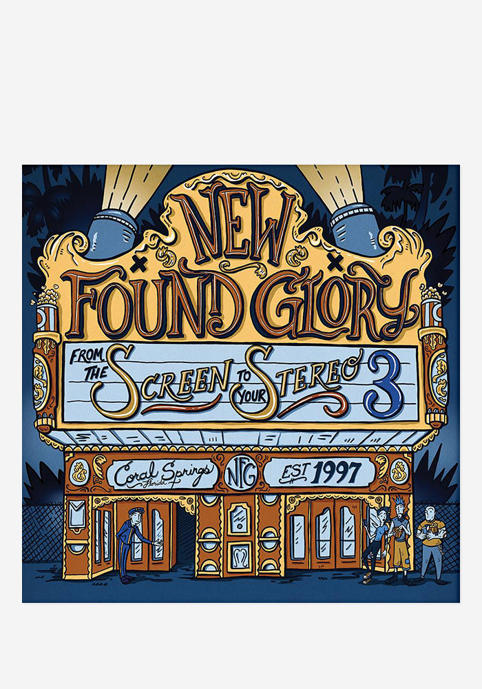 NEW FOUND GLORY From The Screen To Your Stereo Vol 3 CD With Autographed Booklet