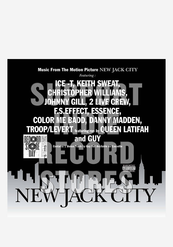 VARIOUS ARTISTS Soundtrack - New Jack City LP (Color)