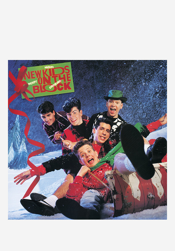 NEW KIDS ON THE BLOCK Merry, Merry Christmas LP (Color)