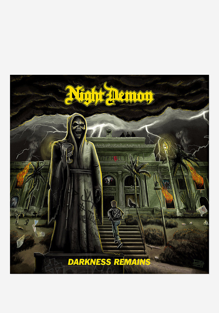 NIGHT DEMON Darkness Remains With Autographed CD Booklet