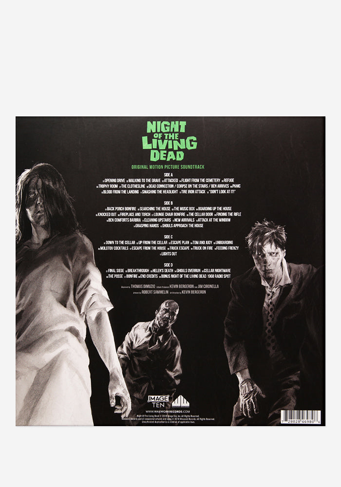 VARIOUS ARTISTS Soundtrack - Night Of The Living Dead Exclusive 2LP