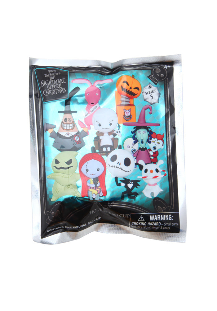 NIGHTMARE BEFORE CHRISTMAS Nightmare Before Christmas 3D Foam Character Bag Clip Blind Bag (Series 5)