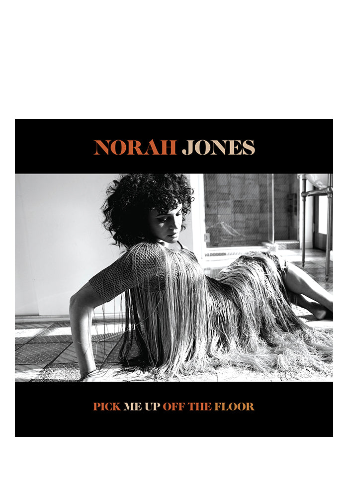 NORAH JONES Pick Me Up Off The Floor Autographed LP (Color)