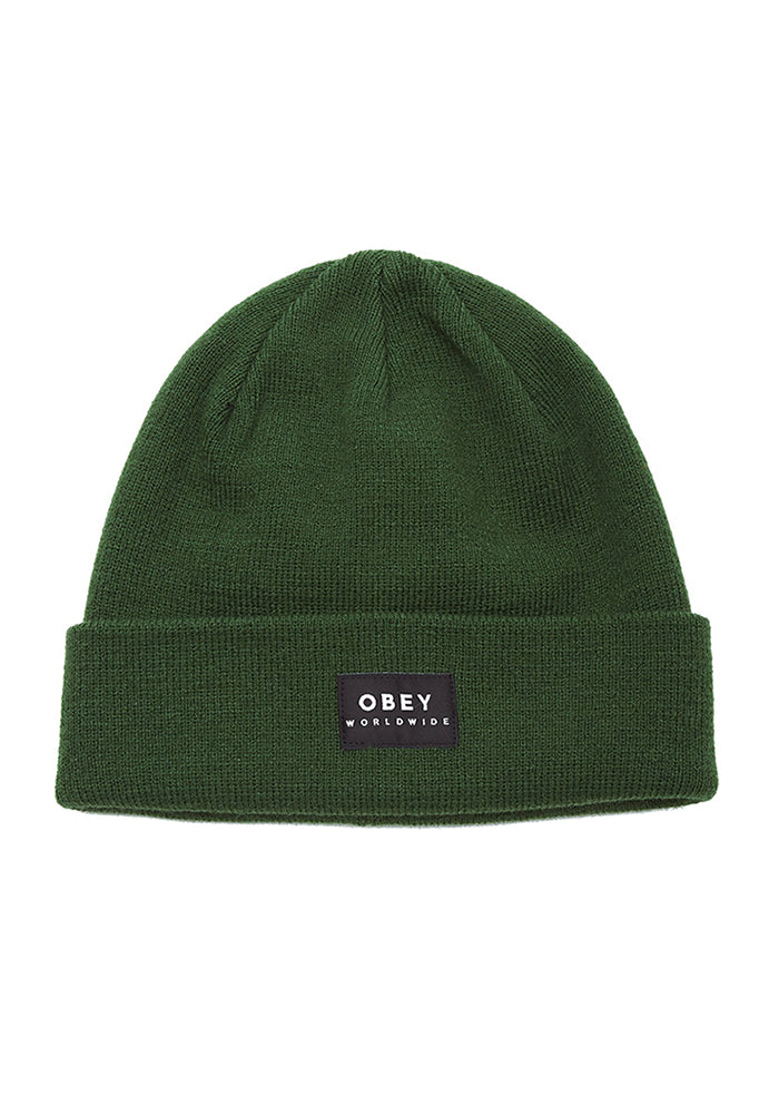 OBEY OBEY Vernon II Beanie - Forest Green