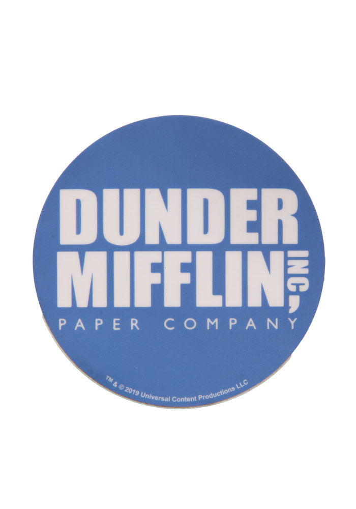 THE OFFICE Dunder Mifflin Round Sticker