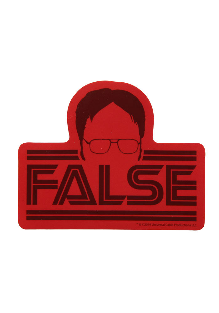 THE OFFICE Dwight False Sticker