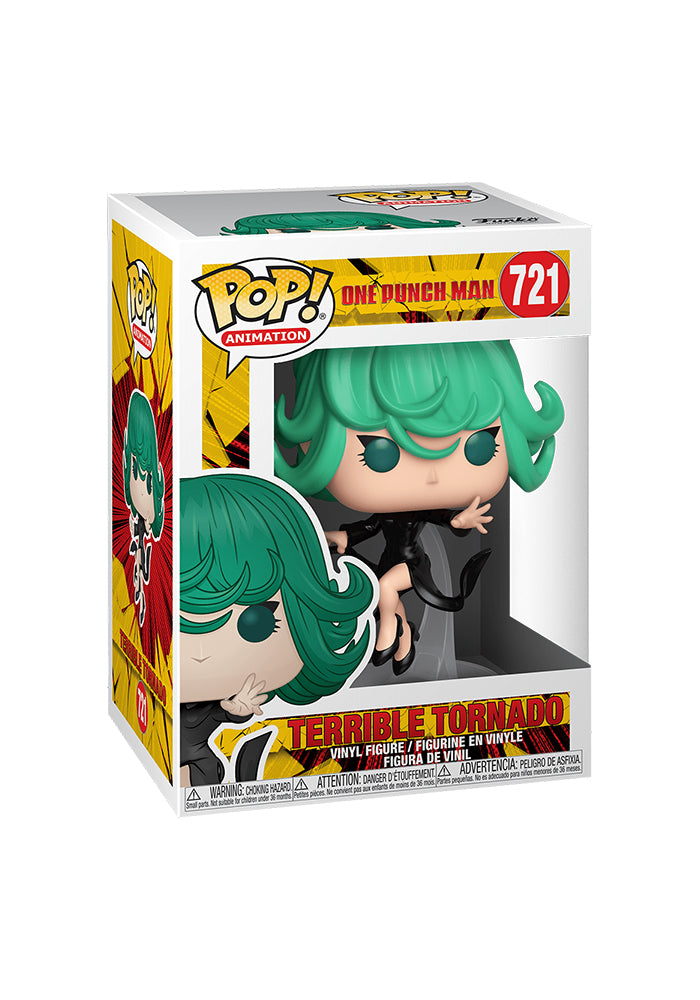 ONE PUNCH MAN Funko Pop! Anime: One Punch Man - Flying Tornado