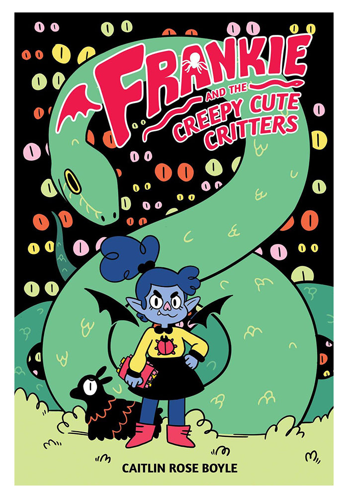 ONI PRESS Frankie and the Creepy Cute Critters Hardcover Graphic Novel