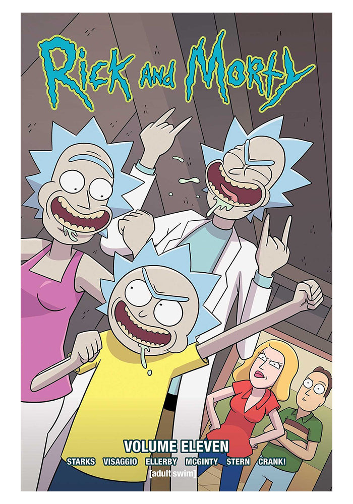 ONI PRESS Rick & Morty Vol. 11 Graphic Novel