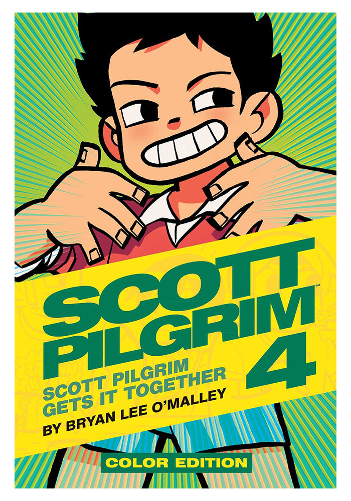 ONI PRESS Scott Pilgrim Vol. 4 Scott Pilgrim Gets It Together Color Edition Hardcover Graphic Novel