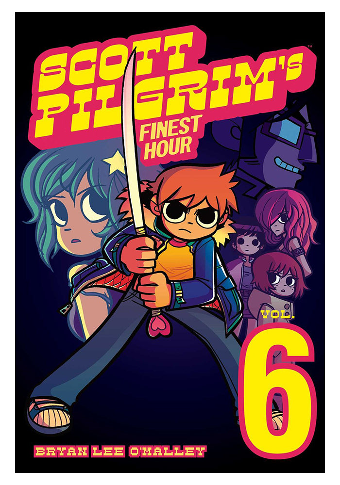 ONI PRESS Scott Pilgrim Vol. 6: Scott Pilgrim's Finest Hour Graphic Novel