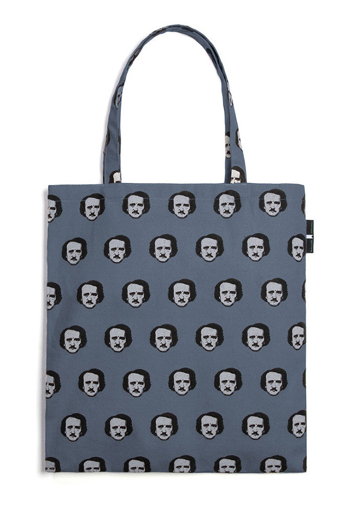 OUT OF PRINT Edgar Allen Poe Tote Bag