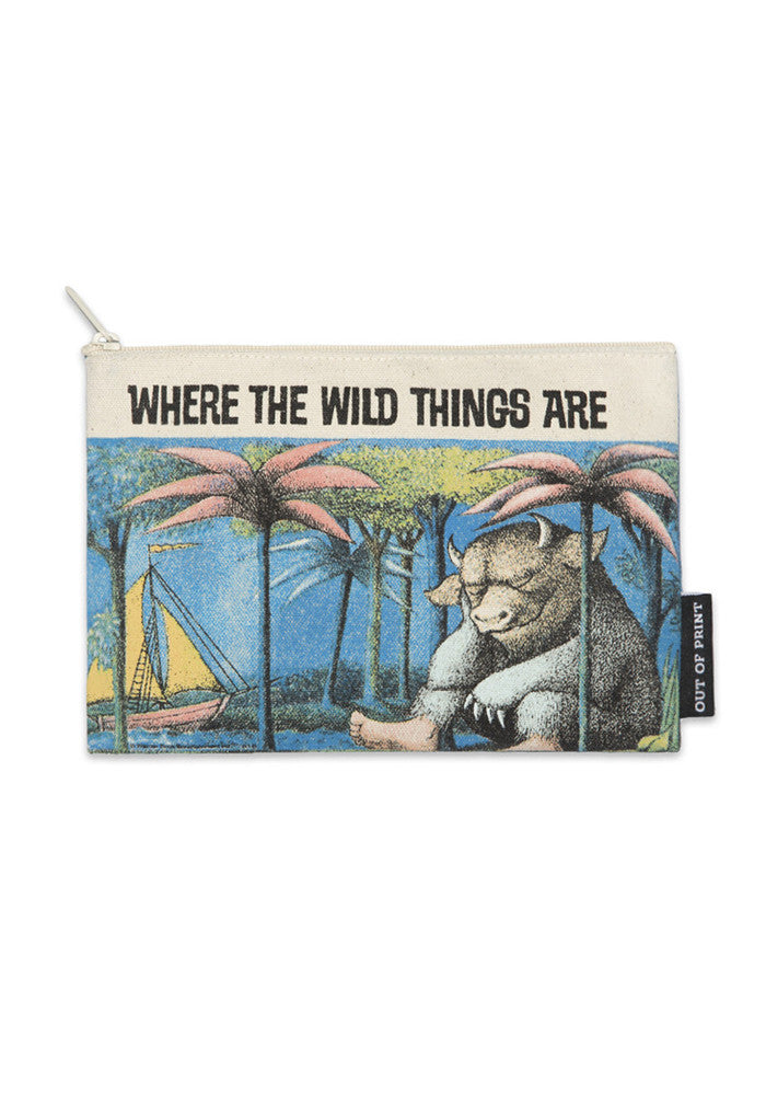 OUT OF PRINT Where The Wild Things Are Pouch
