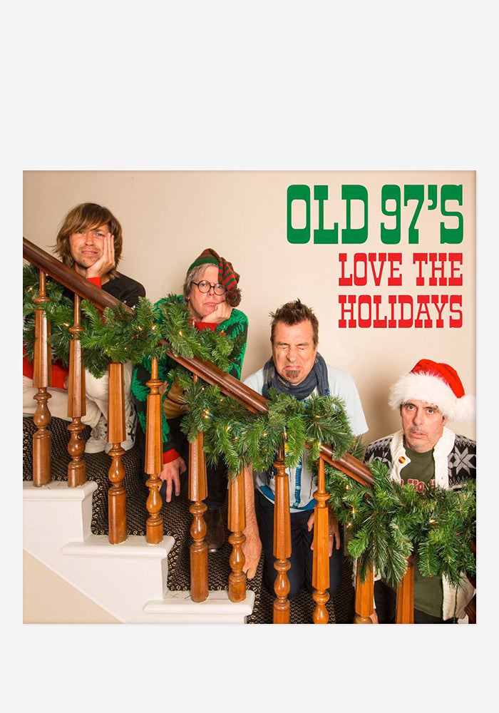 OLD 97'S Love The Holidays CD With Autographed Christmas Card