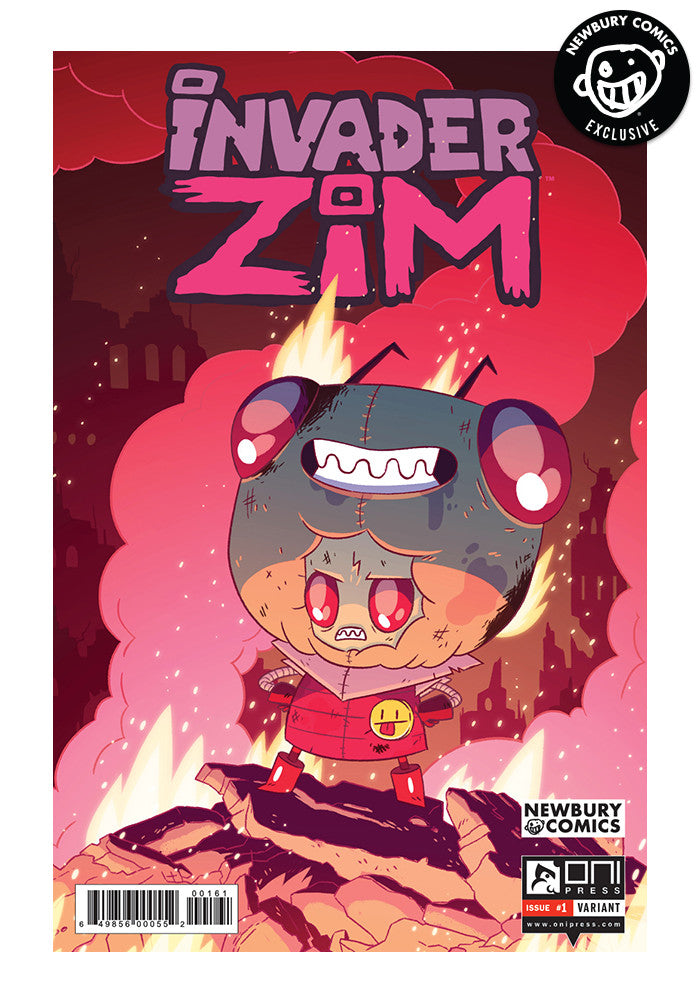 ONI PRESS Invader Zim #1 - J.R. Goldberg Exclusive Cover