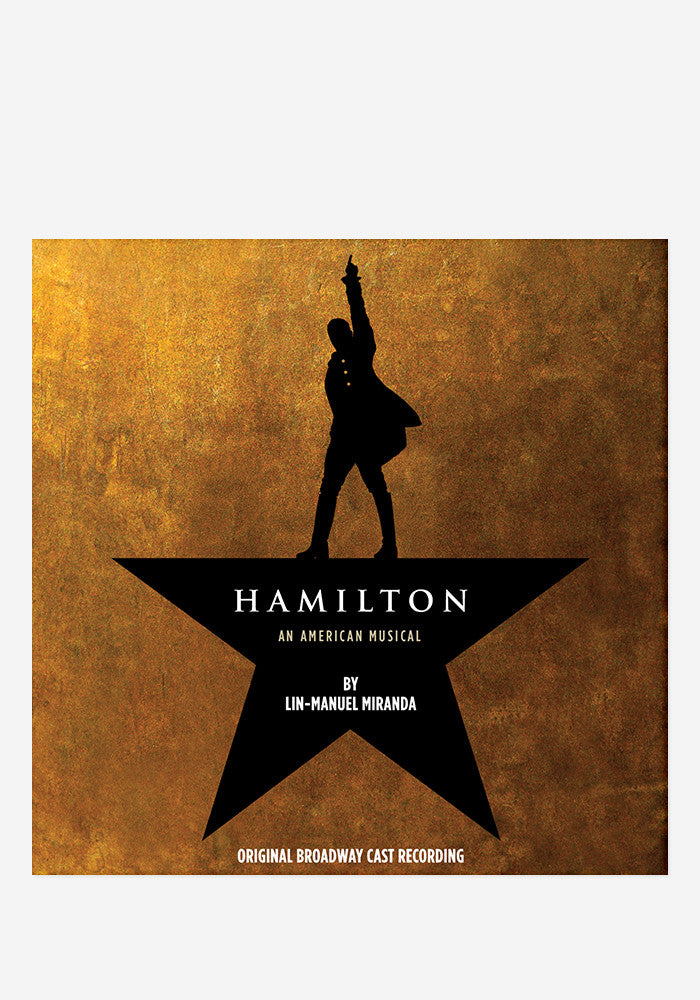 ORIGINAL BROADWAY CAST Hamilton Original Broadway Cast Recording  4 LP
