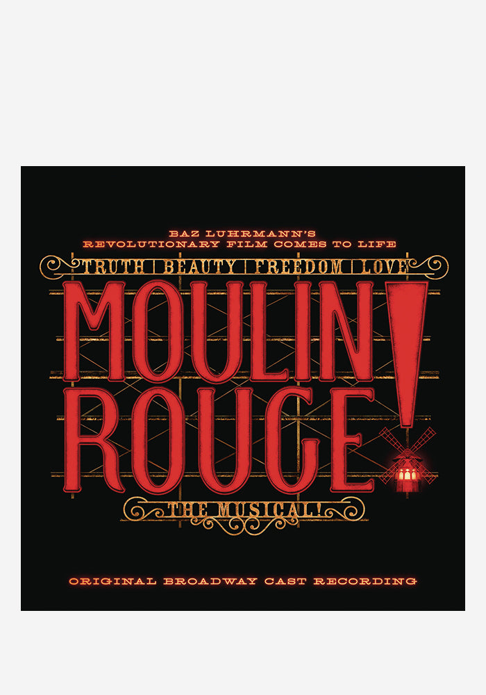 ORIGINAL BROADWAY CAST Moulin Rouge! The Musical 2LP (Color)
