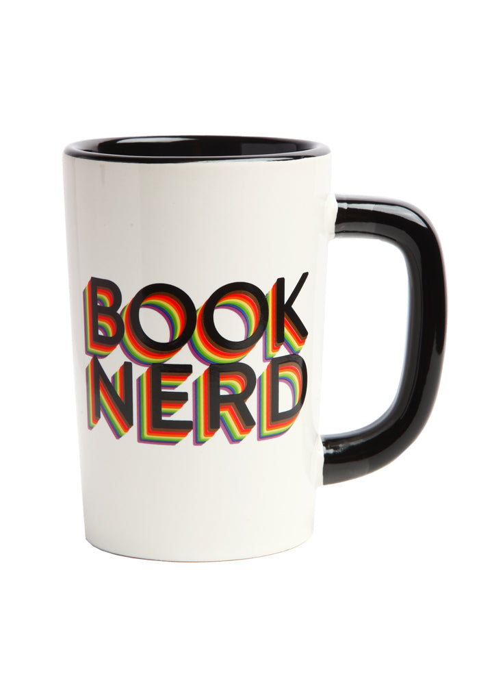 OUT OF PRINT Book Nerd Pride Mug