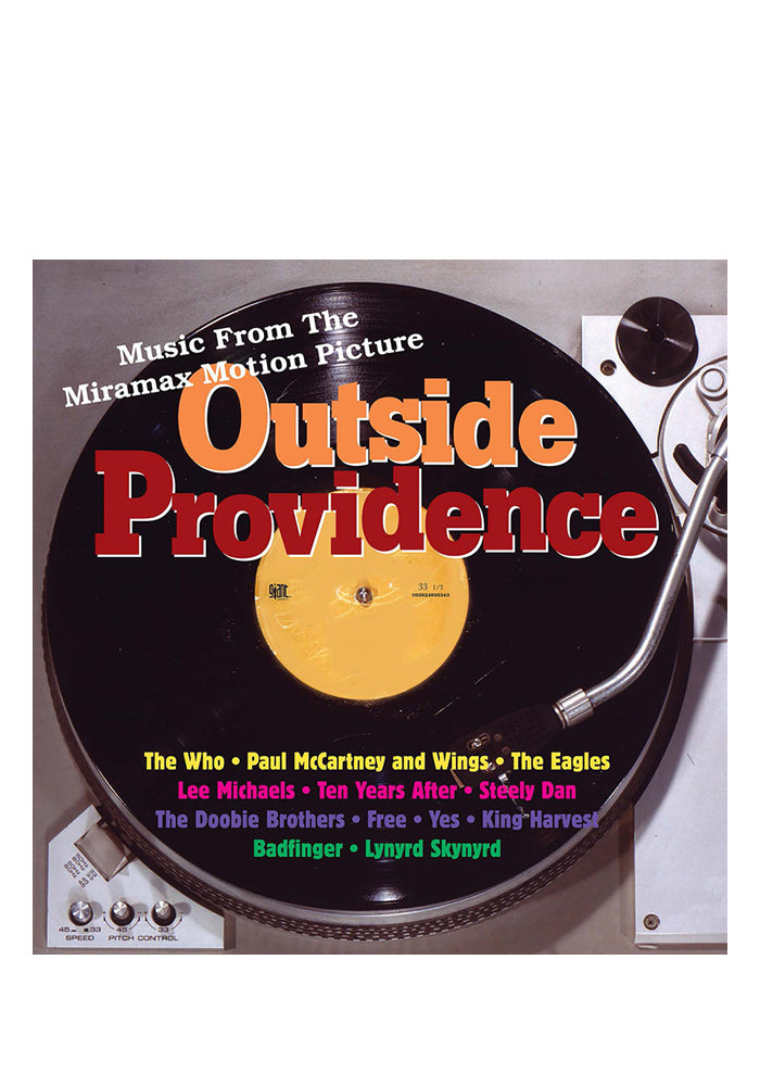 VARIOUS ARTISTS Soundtrack - Outside Providence 2LP (Color)