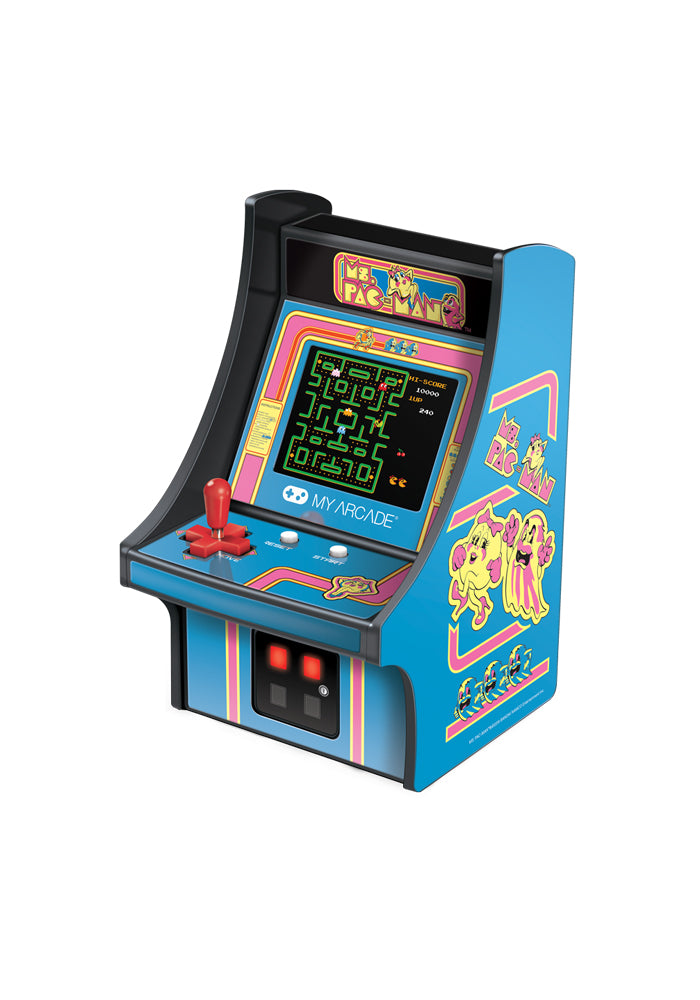 PAC-MAN My Arcade Micro Player Ms. Pac-Man Videogame