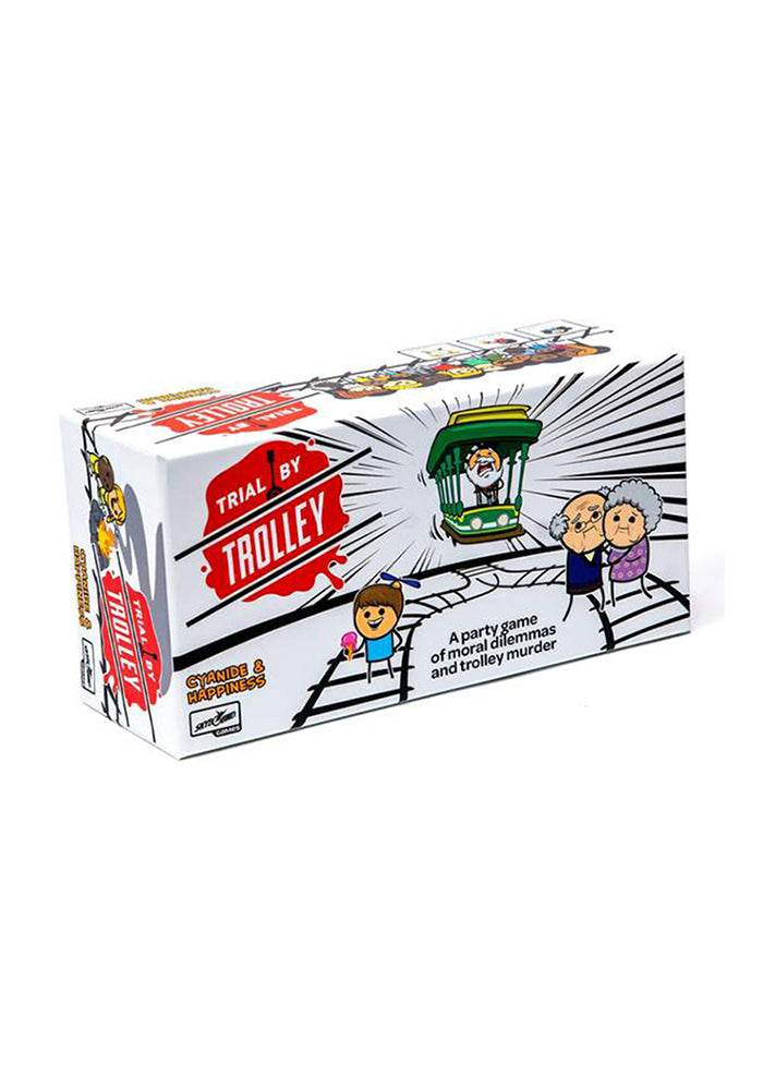 PARTY GAMES Trial By Trolley Game