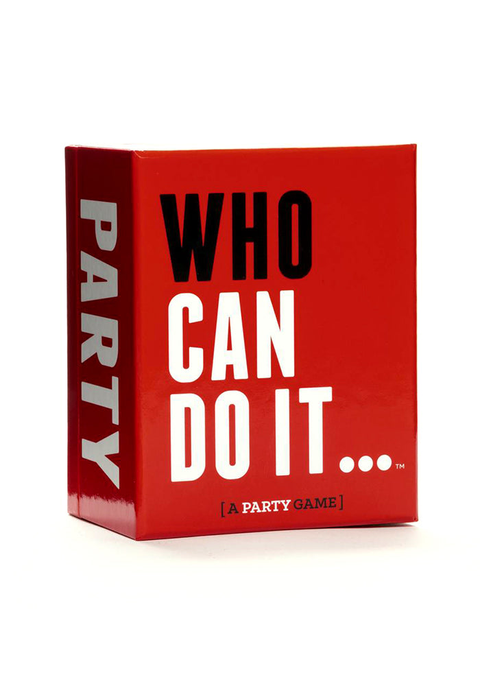 PARTY GAMES Who Can Do It … Party Game