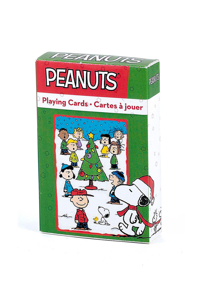 PEANUTS Peanuts Christmas Playing Cards