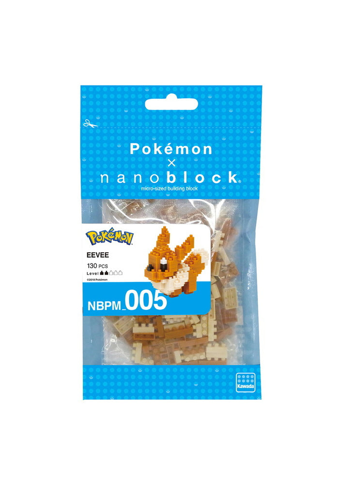 POKEMON Pokemon Eevee Nanoblock