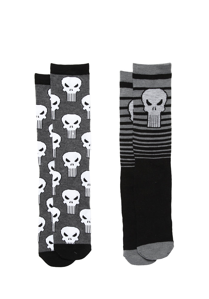 PUNISHER Punisher Logo Socks 2-Pack