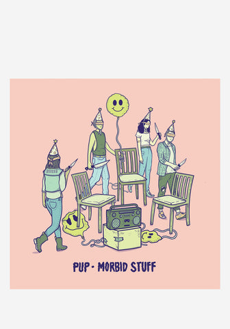 PUP-Morbid Stuff LP (Color) Vinyl | Newbury Comics