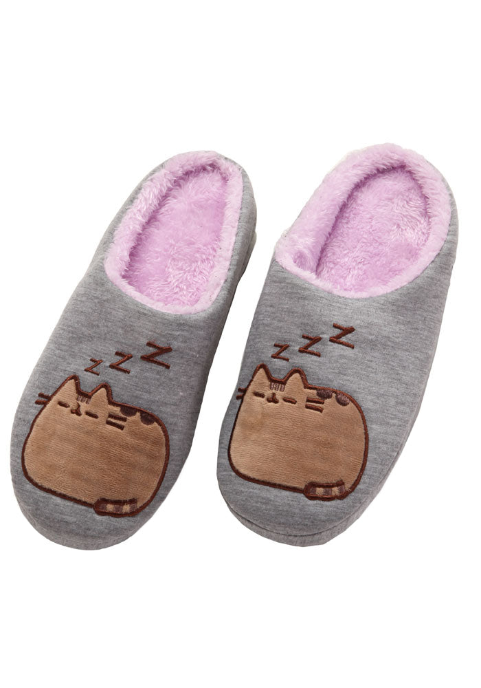 PUSHEEN Pusheen Napping Slide On Slippers
