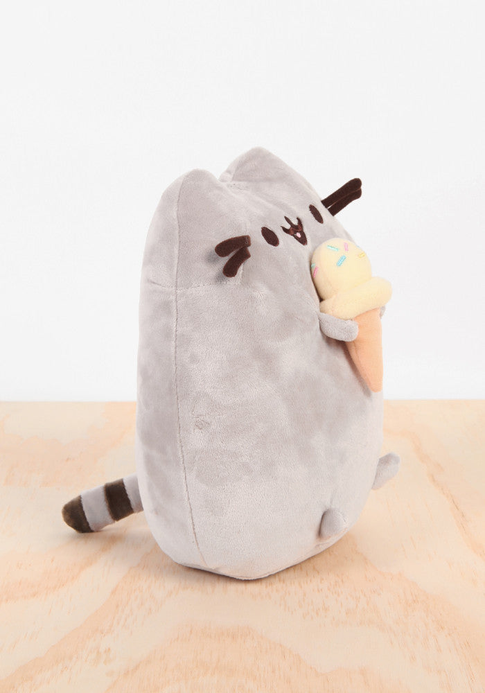 PUSHEEN Pusheen with Ice Cream Plush