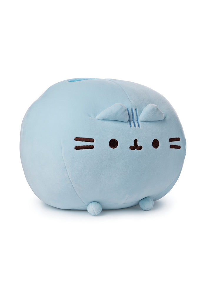 "PUSHEEN Pusheen Round Squisheen 11"" Plush - Blue"