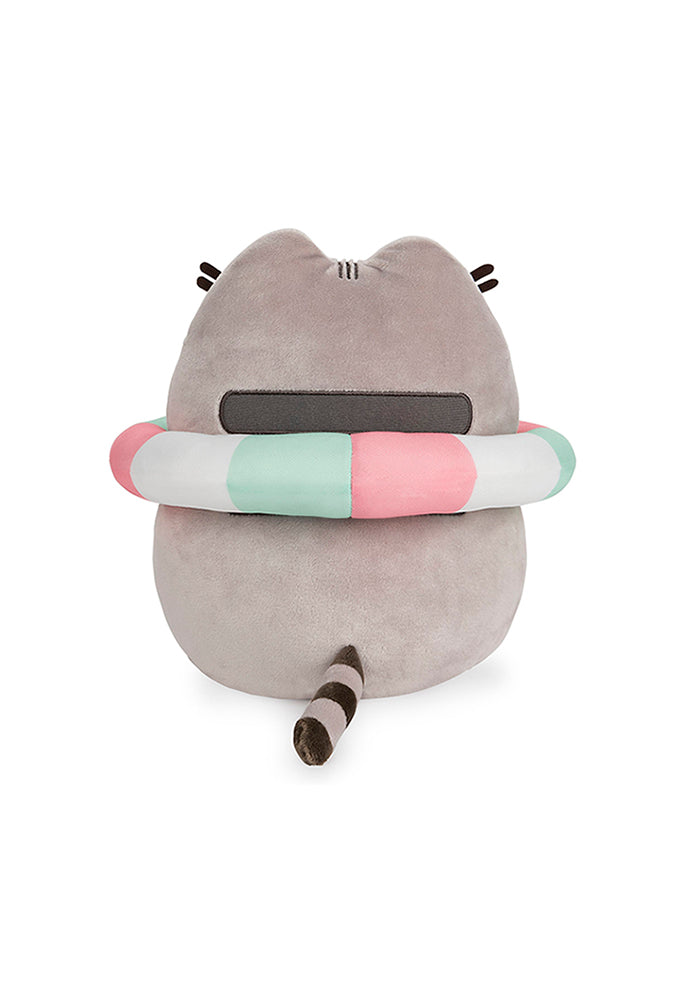 "PUSHEEN Pusheen With Inner Tube 9.5"" Plush"