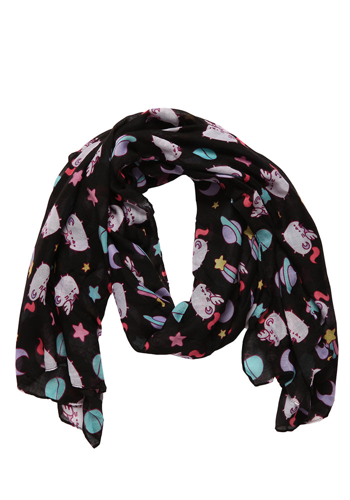 PUSHEEN Pusheenicorn In Space Scarf
