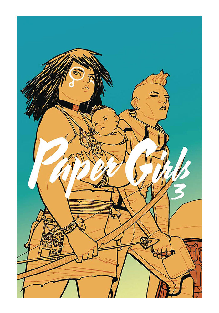 IMAGE COMICS Paper Girls Vol. 3 Graphic Novel