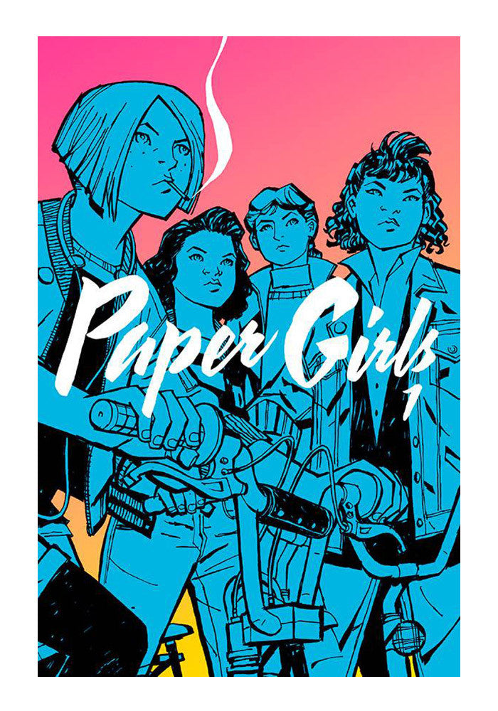 IMAGE COMICS Paper Girls Vol. 1 Graphic Novel
