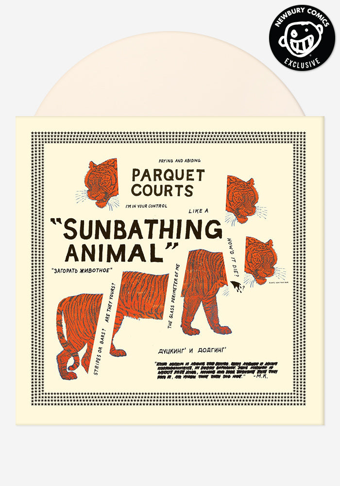 PARQUET COURTS Sunbathing Animal Exclusive LP