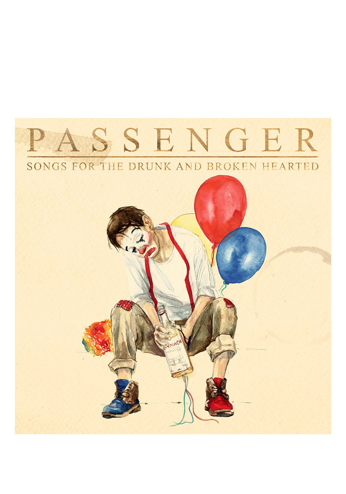 PASSENGER Songs For The Drunk And Broken Hearted Deluxe 2CD (Autographed)