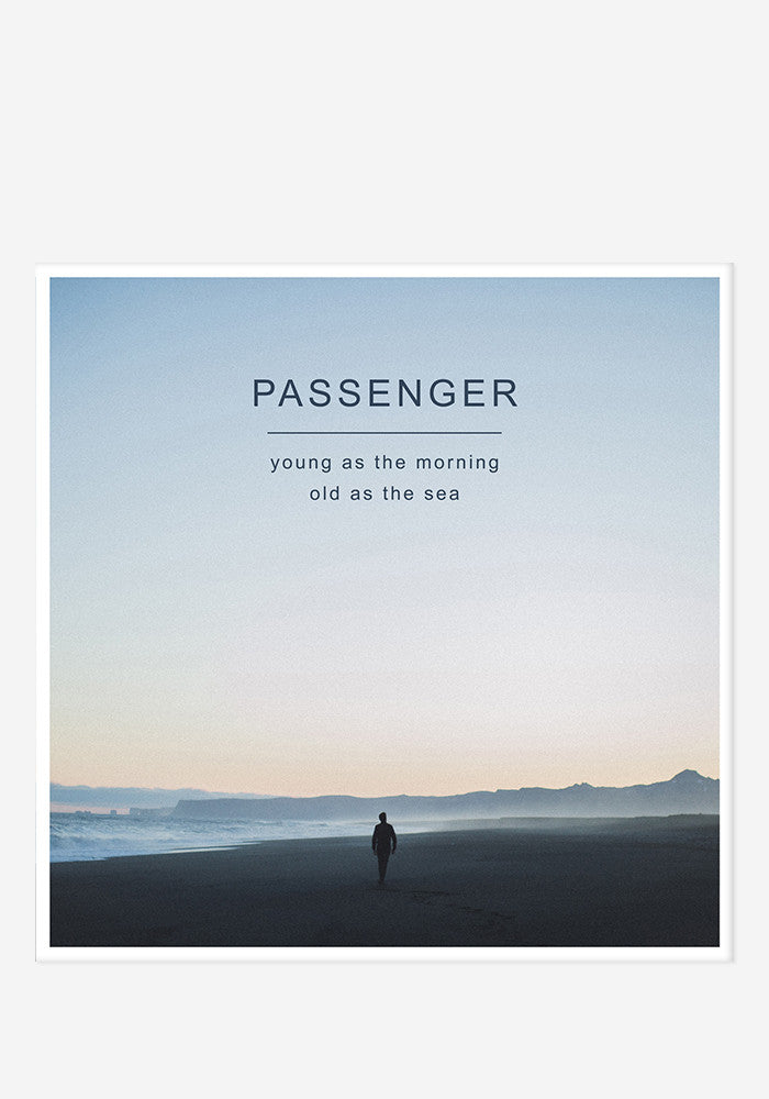 PASSENGER Young As The Morning Old As The Sea Deluxe CD/DVD With Autographed Booklet